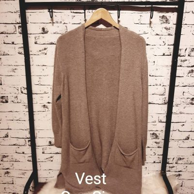 vest one size bruin