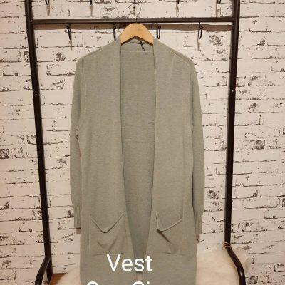 vest one size groen