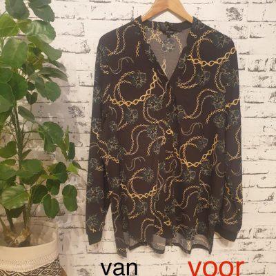 blouse met kabel