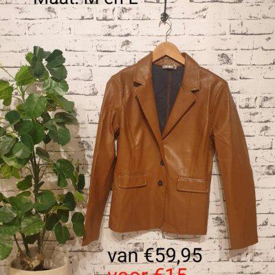 colbert leather look