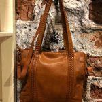 Grote tas van Bag2bag van mooi soepel leer €149,-