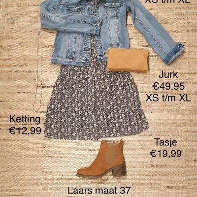 jeans en jurk 9